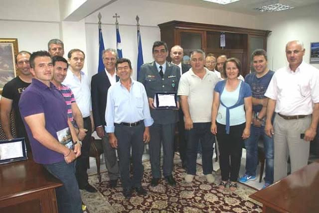 Βράβευση αστυνομικών αρχών νομού Κιλκίς από τον δήμο Παιονίας